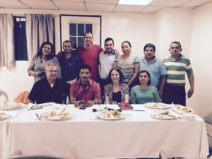 First Meeting with the STESEC Executive Board in El Salvador, December 2015.