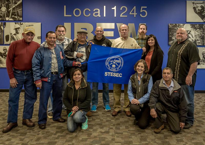 Juntos en la Lucha — Local 1245 Welcomes Union Leaders from
