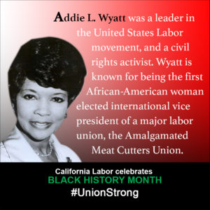 Reverend Addie L  Wyatt: A Champion of Labor and Civil